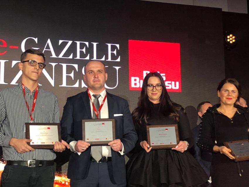 Firma Dental Tree wyróżniona w rankingu e-Gazele Biznesu 2018