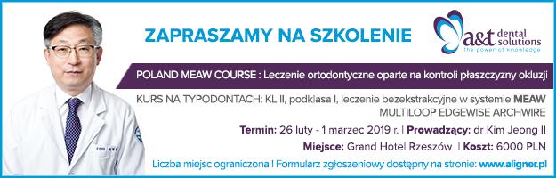 POLAND MEAW COURSE Leczenie ortodontyczne oparte na kontroli płaszczyzny okluzji