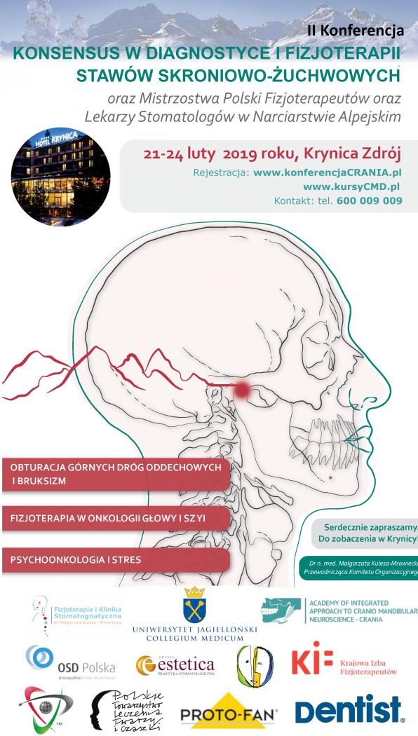 Konsensus w diagnostyce i fizjoterapii stawów skroniowo-żuchwowych