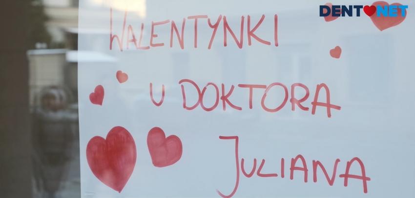 Doktor Julian i Walentynki – zobaczcie nasz reportaż [video]