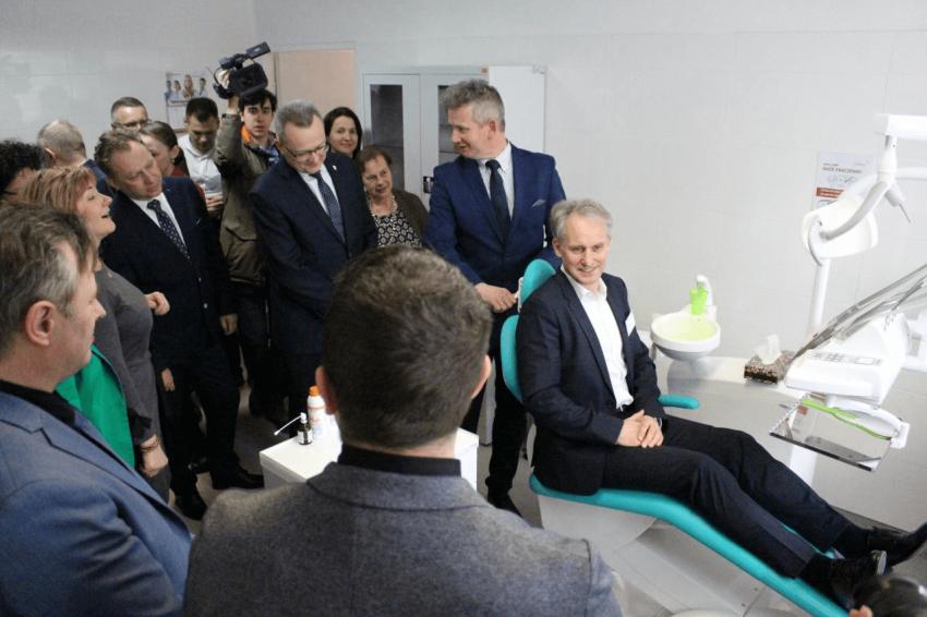 Szkolny gabinet stomatologiczny w Zwoleniu już otwarty