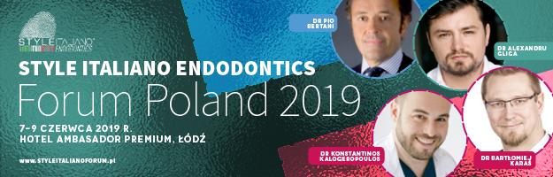 Style Italiano Endodontics FORUM POLAND 2019
