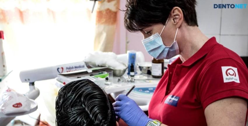 Polska dentystka Katarzyna Błądek-Grzelczak rusza do Iraku