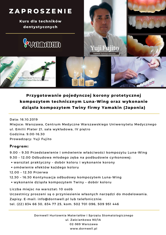 Zaproszenie na kurs dla technikow dentystycznych-1