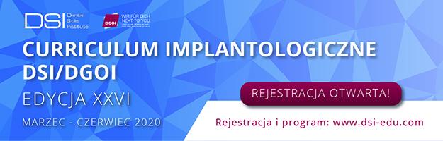 Curriculum Implantologiczne  Edycja XXVI