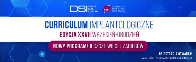 Curriculum Implantologiczne - Edycja XXVII