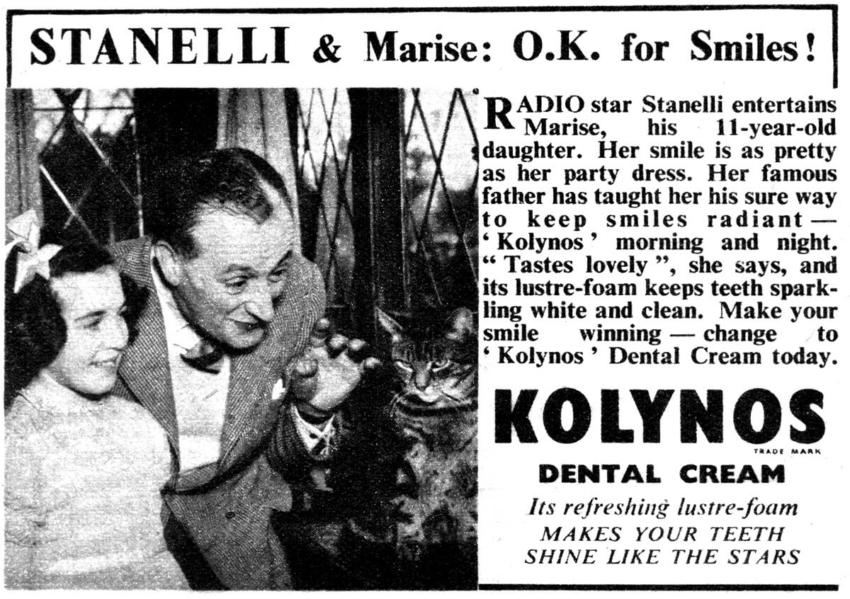 """Pasta do zębów Kolynos, czyli reklama """"na wnuczka"""""""