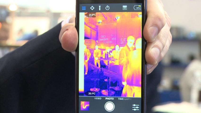 Kamery termowizyjne ze sztuczną inteligencją wykryją objawy koronawirusa
