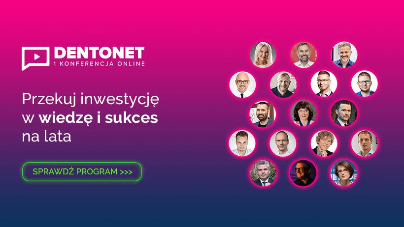 20 wykładów na 20-lecie! Konferencja Dentonet Online zainaugurowana!
