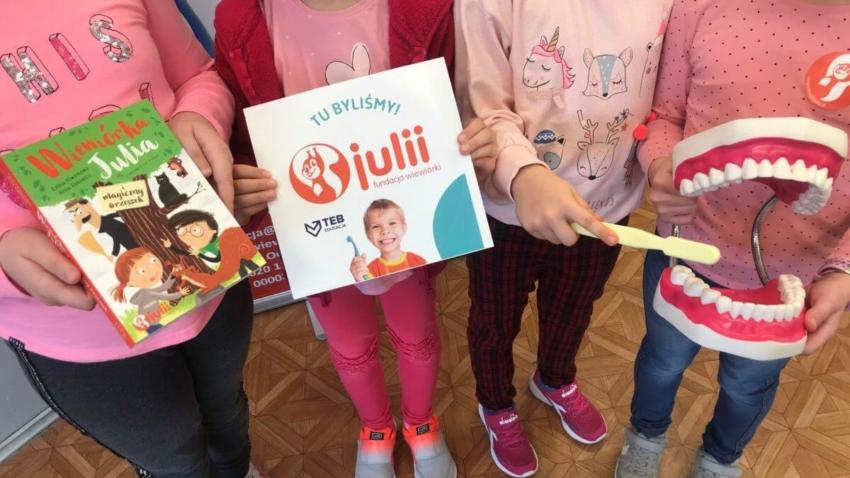 Fundacja Wiewiórki Julii mimo pandemii edukuje najmłodszych