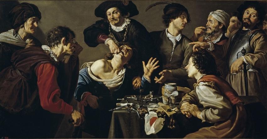 Zęby jak z obrazka, czyli o stomatologii w malarstwie