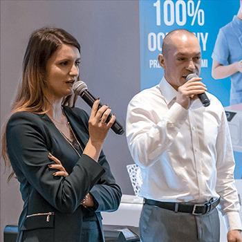 Ewelina Grudzień i Arkadiusz Dorna