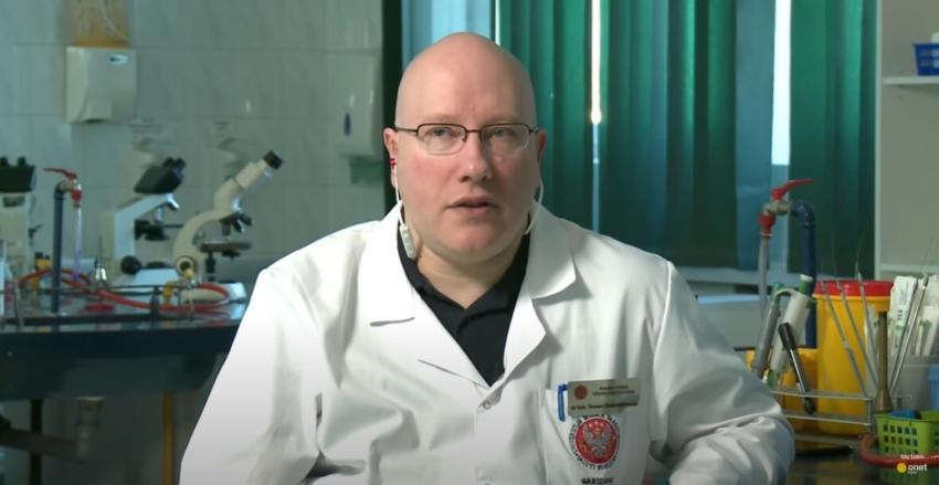 Dr Tomasz Dzieciątkowski na konferencji ASYSDENT