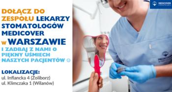 Lekarz Stomatolog ZACHOWAWCA - Warszawa