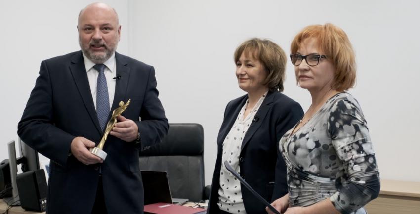 Prof. Dorota Olczak-Kowalczyk z historycznym wyróżnieniem