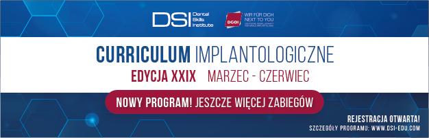Curriculum Implantologiczne - Edycja XXIX