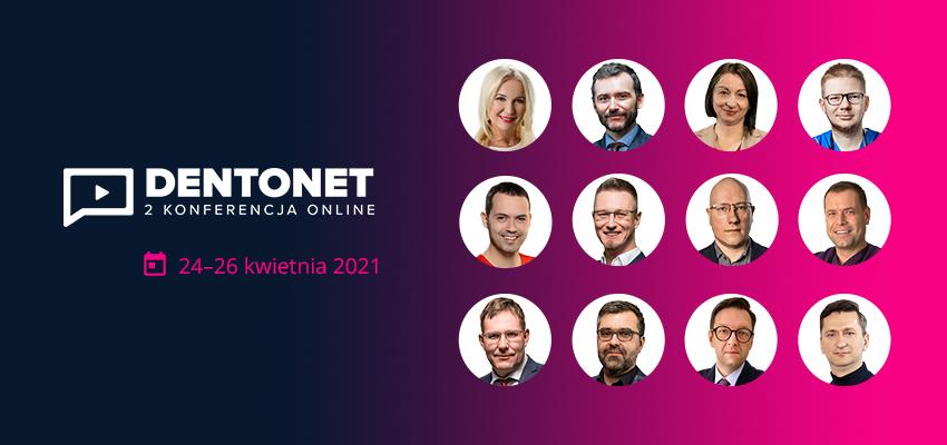 Trwa 2. Konferencja Dentonet Online – przed nami kolejne wykłady