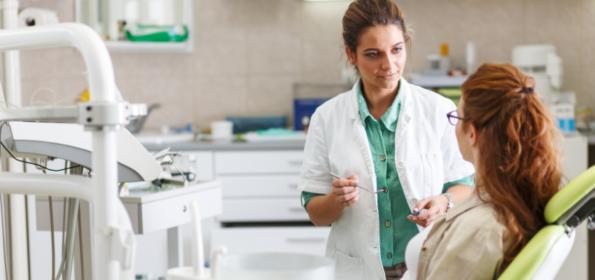 Sfrustrowana higienistka, niezmotywowany pacjent?