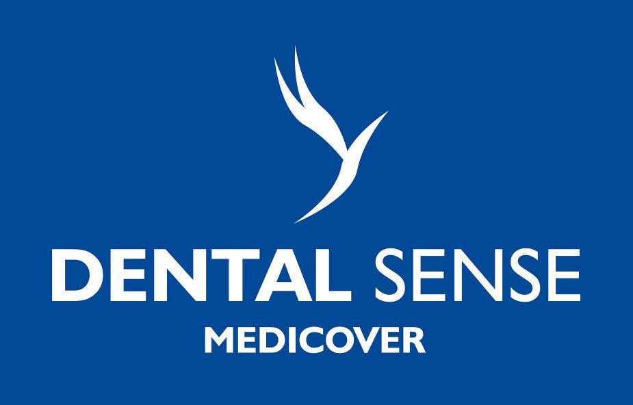 Dental Sense Medicover logotyp 2020 negatywowy pionowy RGB